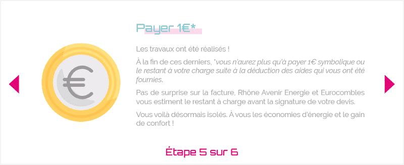 Payer 1 euro